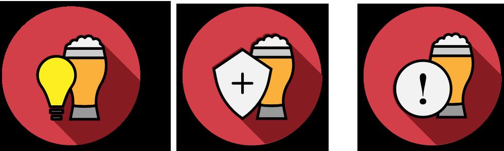 bear badge icons